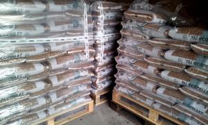 Stockage des granulés de bois (pellets)