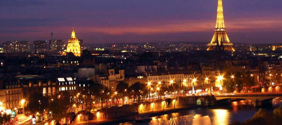 Paris by night en Limousine