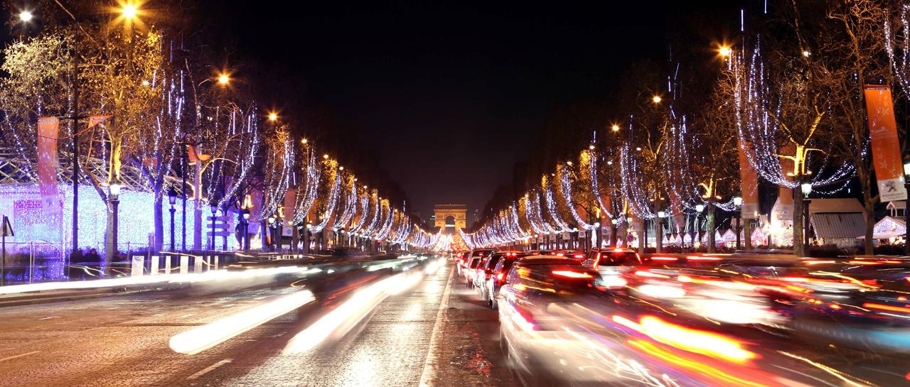 Soirée Limousine Paris Champs Elysees